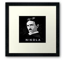 Nikola Tesla Framed Print