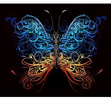 Abstract Butterfly Photographic Print