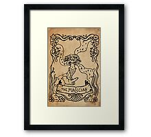 Mermaid Tarot: The Magician Framed Print