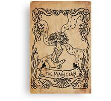 Mermaid Tarot: The Magician Canvas Print