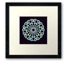 Flower of Truth Framed Print