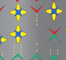 Galaga- Battle in Space Sticker