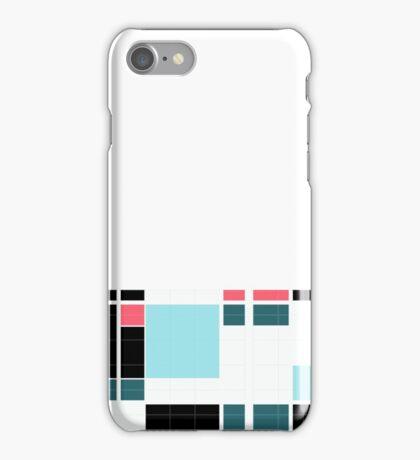Graphic blocks iPhone Case/Skin