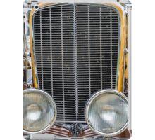 Auburn Grill and Headlights 2 iPad Case/Skin