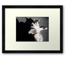 Dudley and me Framed Print