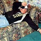 My Husband After The Super Bowl Party by Wanda Raines