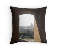 Framing Rome Throw Pillow
