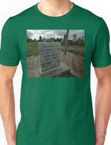 Thunderbolt's Grave, Uralla, Australia 2009 Unisex T-Shirt