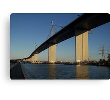 Westgate Bridge, Melbourne. Canvas Print
