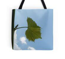 Grape Leaf Tote Bag