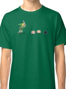 Link Chasing The Pigs Classic T-Shirt