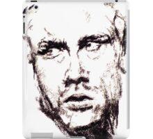 James Dean Charcoal iPad Case/Skin