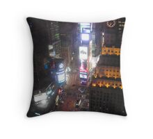 Times  Squared Throw Pillow