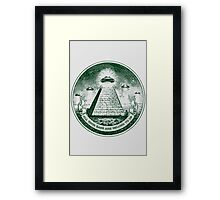 All Your Base are Belong to Us Framed Print