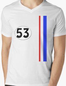 Herbie The Love Bug Jim Douglas Special 53 Mens V-Neck T-Shirt