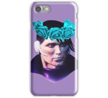 Matt Miller Flower Crown iPhone Case/Skin