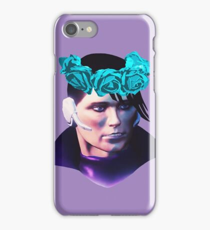 Matt Miller Flower Crown iPhone Case/Skin