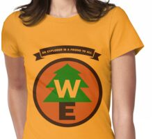 Wilderness Explorer Womens Fitted T-Shirt