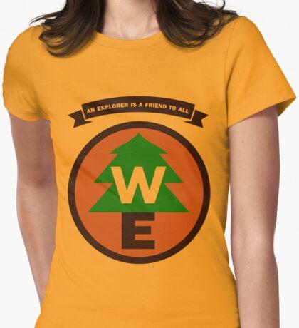Wilderness Explorer Womens Fitted T-Shirt