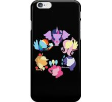 Mane Six 2 iPhone Case/Skin