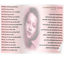 a poem for my mother Poster