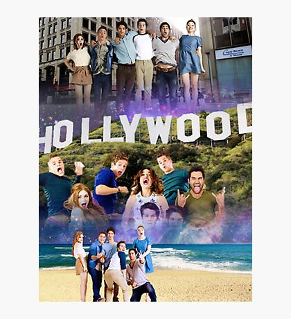 Teen Wolf Cast Photographic Print