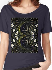Sword Handle with Inlaid M.O.Pearl Women's Relaxed Fit T-Shirt
