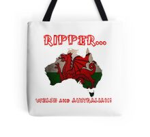 Welsh and Australian - Tshirts, Stickers, Mugs, Bags Tote Bag