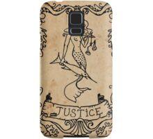 Mermaid Tarot: Justice Samsung Galaxy Case/Skin