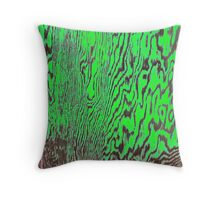 peeling weathered paint patterns Throw Pillow