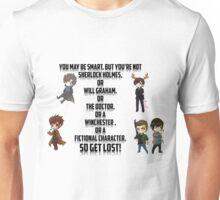 Fictional Character Awesomeness! Unisex T-Shirt