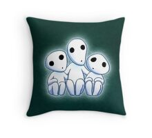 Tree Spirit Friends- Mononoke Throw Pillow