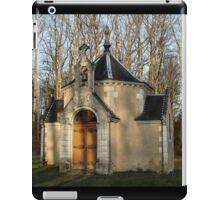 Church or Crypt?, Montresor, Loire Valley, France 2012 iPad Case/Skin