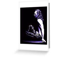 Loki - A Study In Black/White V Greeting Card