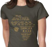 Mzansi 2010 - Nkosi Sikelel' iAfrika - Bafana Bafana Gold Womens Fitted T-Shirt