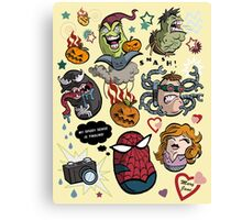 Spidey and Friends Canvas Print