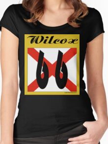 ALABAMA:  66 WILCOX COUNTY Women's Fitted Scoop T-Shirt