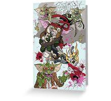 Gizmo Revenge Greeting Card