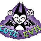 Cute and Evil -Purple by blacklilypie