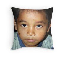 Beautiful Boy Throw Pillow