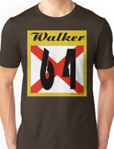 ALABAMA:  64 WALKER COUNTY Unisex T-Shirt