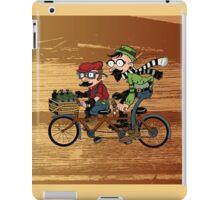 Super Tandem Bros iPad Case/Skin