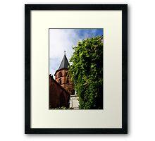 Historical Abbey Church Kaiserslautern Framed Print