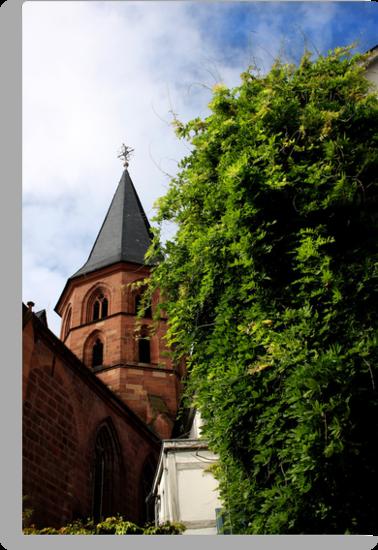 Historical Abbey Church Kaiserslautern by SmoothBreeze7