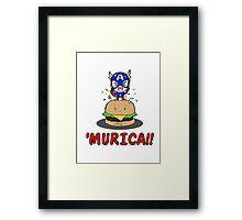 'MURICA!! Framed Print