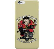 Chicago Blackhawk Skate or Die iPhone Case/Skin