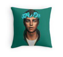 Butch DeFlowerCrownia Throw Pillow