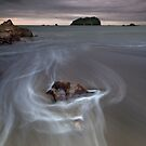 Maunganui storm surge by Ken Wright