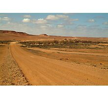 Oodnadatta Track,Outback South Australia Photographic Print