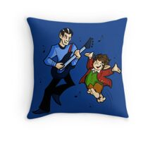 The Ballad of Bilbo Baggins Throw Pillow